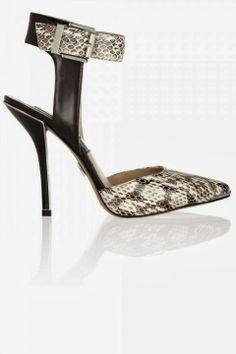 Michael Kors snake print sandals