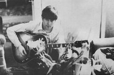 During the early days of the Beatles, Ringo Starr often traveled with a camera and took photos of the group behind the scenes, from rehearsi. Les Beatles, John Lennon Beatles, Ringo Starr, Bobby George, The Ed Sullivan Show, Moment Of Silence, The Fab Four, George Harrison, Paul Mccartney