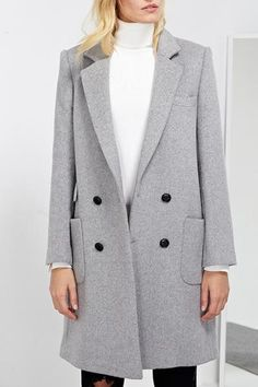 Boyfriend Wool Coat