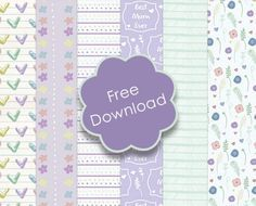 We have designed a selection of delightful, printable papers to aid your wonderful Mother's day makes. Read on to find out how you can use these pretty designs in a few, easy steps…