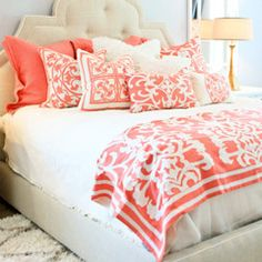 Lili Alessandra Battersea Quilted Ivory/Ivory Coverlet or Set LALB807