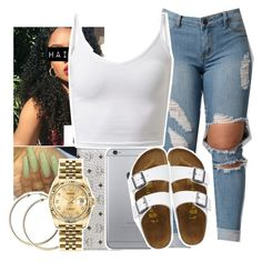 """""""."""" by asvptay ❤ liked on Polyvore featuring MCM, Rolex and TravelSmith"""