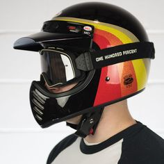 Bell Moto 3 Chemical Candy Black/Gold Helmet at Get Lowered Cycles.