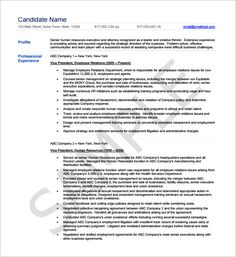 Sample Asst Hr Manager Resume Template Format  Hiring Manager