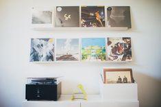 LP Box zur Aufbewahrung von Schallplatten