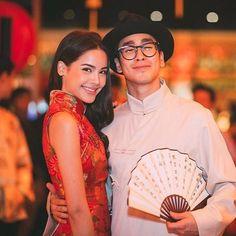 . Thai Princess, Sweet Couple, Actor Model, Girl Crushes, Korean Actors, Traditional Dresses, Cute Couples, Rapper, Beautiful People