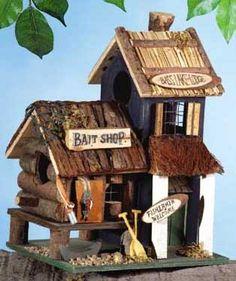 birdhouses | 31245 Wood Bait Shop Birdhouse