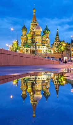 The Red Square has been the heart and soul of Russia for centuries. With the most famous building of Moscow, the St. Basil Cathedral from the 16th century and many others like the Lenin Mausoleum, Kazan Cathedral and Kremlin the square is really a stunning spot.