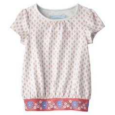 Genuine Kids from OshKosh ™ Infant Toddler Girls' Print Tunic - White/Melon