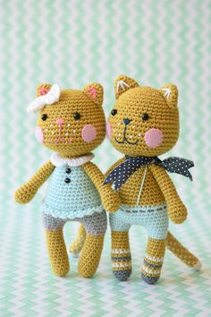 meow cat amigurumi pattern
