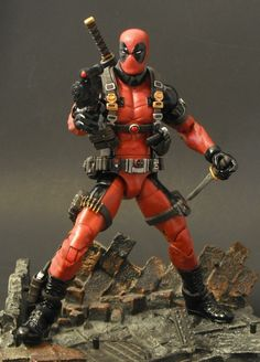 Custom Deadpool by Justin Manny