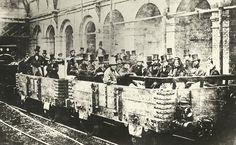 První cesta metrem v Londýně (1862)