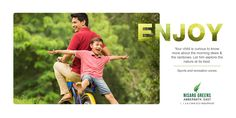 Nisarg Greens - Ambernath East 1, 1.5 & 2 BHK Eco-Residences Sports and recreation zones http://www.nisarggroup.com/greens/ #realestate #residential #property #homes #residences #nature #greens #ecoluxury