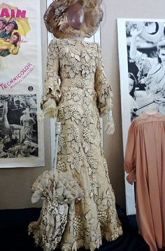 "From ""Meet me in St Louis"" (1944) worn by Mary Astor as Mrs. Anna Smith design by Irene Sharaff"