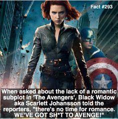 She IS Black Widow