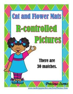 This activity consists of 5 cat/flower mats that have the r-controlled vowel placed on them.  It also consists of 30 middle flower parts.  Students will match the picture on the flower part to the correct mat.  This activity can be used as a review for r-controlled vowels.An answer key and a student answer sheet is provided.