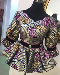 Short African Dresses, African Blouses, Latest African Fashion Dresses, African Print Fashion, Ankara Fashion, Africa Fashion, Tribal Fashion, African Prints, African Fabric