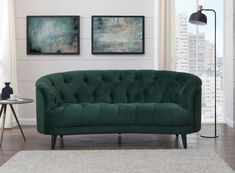 Silloth Green Velvet Fabric Love Seat Sofa - available to buy online or at Choice Furniture Superstore UK on stockist sale price. Get volume - discount with fast and Free Delivery. Buy Sofa Online, Green Velvet Fabric, Elegant Sofa, Furniture Assembly, Velvet Sofa, 2 Seater Sofa, Sofas, Love Seat, Interior