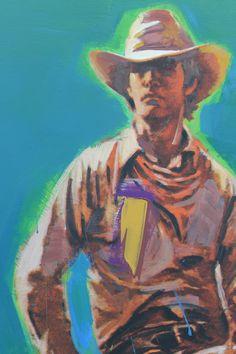 richard prince cowboy paintings