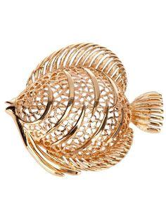 Monet fish #brooch #jewelry
