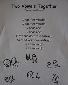 Vowel Pairs literacy-language-arts-ideas