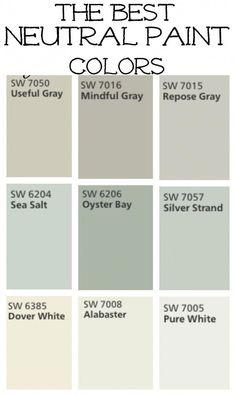 New Ideas Farmhouse Paint Colors Livingroom Mindful Gray Best Neutral Paint Colors, Interior Paint Colors, Paint Colors For Home, Paint Colours, Paint Colors For Living Room Popular, Fixer Upper Paint Colors, Nursery Paint Colors, Paint Decor, Kitchen Paint Colors