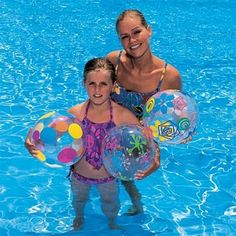 """Designer Beach Balls (24"""") - Set of Two £5.00 - Inflatables - Beach balls Beach bags 