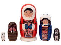 Eskimo Nesting Doll