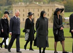 10/2/14.   After her death was announced, Prince Charles paid tribute saying: 'My wife and I were deeply saddened to learn of the death of The Dowager Duchess of Devonshire, whom both of us adored and admired greatly'