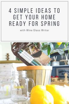 4 Simple Ideas to Get Your Home Ready for Spring #wineglasswriter   Spring is now upon us which means most of us will be tackling a little bit of spring cleaning. Whether you enjoy diving into a deep clean when spring arrives or prefer a simpler approach you'll enjoy these simple ideas to have your home feeling ready for the new season in no time! #cleaning #spring #springcleaning #home #living Deep Cleaning, Spring Cleaning, Ink Wash, Spring Has Sprung, Organization Hacks, Diving, Wine Glass, You Got This, Writer