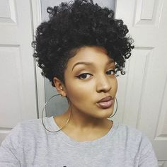 ***Try Hair Trigger Growth Elixir*** ========================= {Grow Lust Worthy Hair FASTER Naturally with Hair Trigger} ========================= Go To: www.HairTriggerr.com ========================= This Curly Tapered TWA is HOTTTT!!!!!