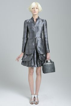 Emporio Armani Resort 2014 - i can make something like this for you in any colour raw silk you want