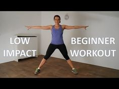 20 Minute Low Impact Workout Routine For Beginners – Fat Burning Workout For Beginners - YouTube