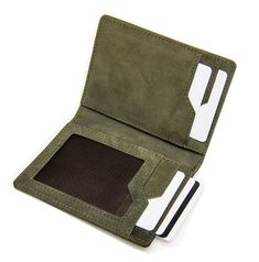 This wallet blocks RFID scanners from taking your ID and Credit card details. Be safe, be green, be Olive. Money Safe, Pocket Cards, Horse Saddles, Crazy Horse, Travel Light, Pocket Detail, Real Leather, Wallets, Backpacks