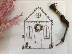 Gingerbread Village Free BOM Block 7 - Days Filled With Joy