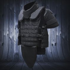 Our Titan Tactical Vest w/ full accessories has you covered. Call us for a quote and we'll set you up!