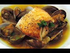 Seared Cod with Clams in a Saffron Fennel Broth | Coco de Mama