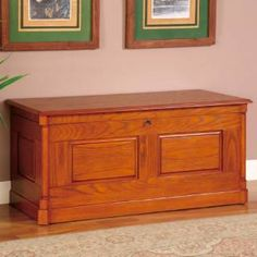 Coaster Furniture 900014 Solid Wood Cedar Chest