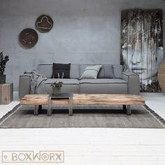 BoxWorx | Meubels | Salontafels - Salontafel KESPBoxWorx Furniture, Living Room Decor, Diy Interior, Interior Design Trends, Living Room Interior, House Interior, Home Deco, Interior Design Living Room, Interior Design