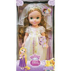 NEW My First Disney Princess 15 inch Wedding Tangled Rapunzel Doll #Disney