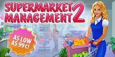 Weekly SALE! It's time to demonstrate your management abilities! Enjoy the gripping game Supermarket Management 2 for as low as 99¢ on iPad, iPhone, Google Play, Kindle Fire, Mac OS and Windows platforms through December 14th. Grow a competitive grocery chain and lead it to success for up to 80% off!  Learn more: http://www.g5e.com/sale