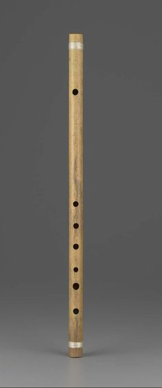 Transverse flute (bansuri) | Museum of Fine Arts, Boston