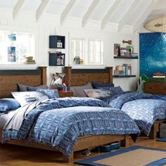 New Teen Furniture & New Teen Decor Surf Bedroom, Teen Bedroom, Dream Bedroom, Boy Bedrooms, Boys Bedroom Furniture, Teen Furniture, Bedroom Ideas, Mens Room Decor, Home Decor