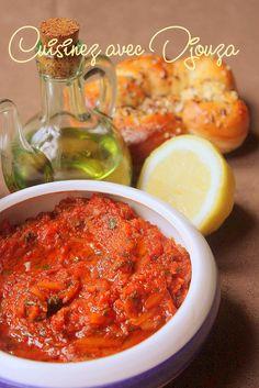 Recette caviar de tomate