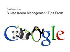 How Google management strategies translate to classroom management tips.