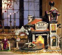 Department 56 Halloween Village Cemeteries - Rest in Peace