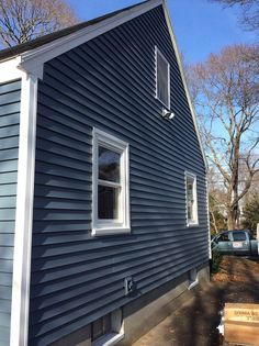 Best Harbor Blue Siding Exterior And Patio Ideas In 2019 400 x 300