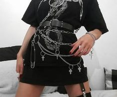 Grunge Outfits – Page 7031991246 – Lady Dress Designs Style Outfits, Gothic Outfits, Edgy Outfits, Mode Outfits, Grunge Outfits, Fashion Outfits, Goth Girl Outfits, Women's Fashion, Fashion Women