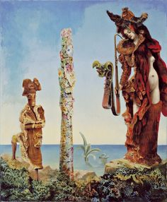 """MoMa Max Ernst """"Napoleon in the Wilderness"""""""