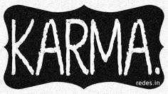 karma Do It Yourself – Inspirational Wall Art Using Shoe Box Lid #ShoeBoxLid #Inspirational #Quotes #WallArt #FreeTemplate
